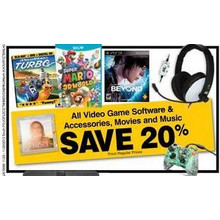 Video Game Accessories 20% OFF