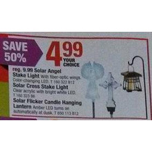 Solar Angel Stake Light