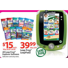 Leap Frog Explorer Software