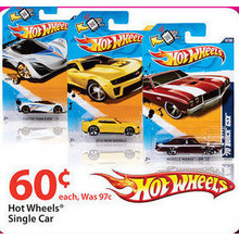 Hot Wheels Single Car
