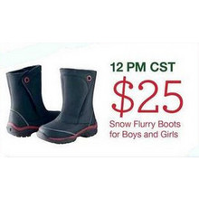 Snow Flurry Boots for Boys