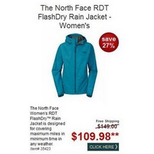 The North Face RDT FlashDry Rain Jacket - Women's