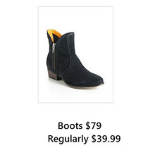 Boots (Friday Only)