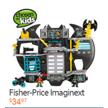 Fisher-Price Imaginext Batcave Play Set