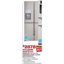 Samsung 31.7 Cu. Ft. Stainless Steel 4-Door Refrigerator (Starts 11/10)