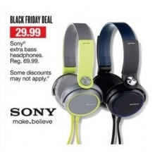 Sony(R) extra bass headphones