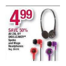 Skullcandy 2XL Spoke and Wage Headphones