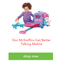 Doc McStuffins Get Better Talking Mobile Cart