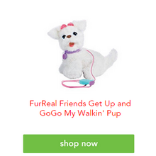 FurReal Friends Get Up and GoGo My Walkin' Pup