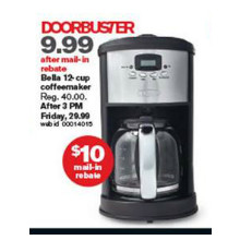 Bella Coffeemaker (12-C.)