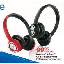 Monster N-Tune On-Ear Headphones (Assorted)