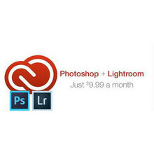 Photoshop + Lightroom for $9.99 a month