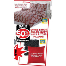 Quilt Sets (Assorted) 50% OFF
