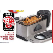 ELITE 3.5-qt. Stainless Steel Deep Fryer