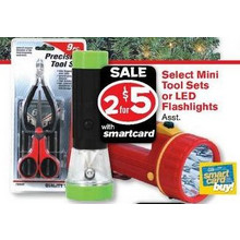 Mini Tool Sets (Select Styles) 2 for $5.00