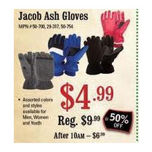Jacob Ash Womens Gloves