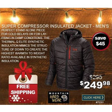 Super Compressor Insulated Jacket - Men's