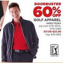 Golf Apparel - 60% off