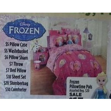 Frozen Bed Pillow