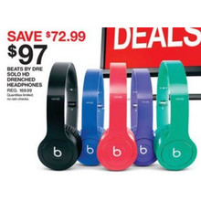Beats by Dre Solo HD Drenched Headphones