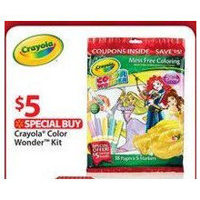 Crayola Color Wonder Kit-Disney Princess