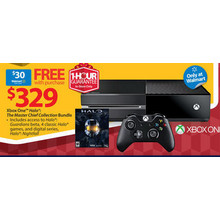 Xbox One Halo The Master Chief Collection Bundle w/ $30 Walmart Gift Card