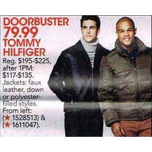 Tommy Hilfiger Jackets Faux Leather, Down or Polyester-Filled