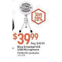 Blue Snowball iCE USB Microphone