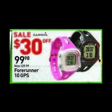 Garmin Forerunner 10 GPS Running Watch (Assorted)