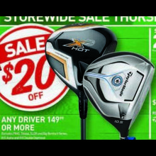 Golf Drivers $149.99 or More