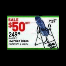 Teeter Hang Ups NXT-S Inversion Table