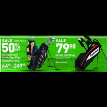 TaylorMade Golf Bags (Select)