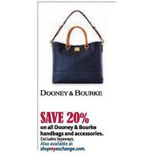 Entire Stock of Dooney & bourke Handbags and Accessories - 20% off