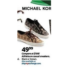 Michael Kors Athleisure Casual Sneakers