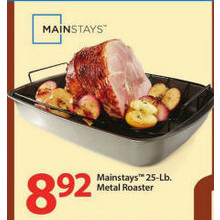Mainstays™ 25-lb. Metal Roaster