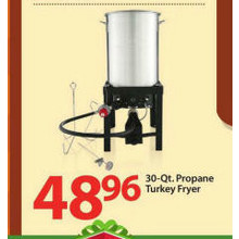 30-Qt. Propane Turkey Fryer