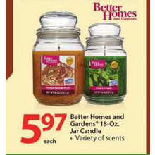 Better Homes and Gardens 18-oz. Jar Candle