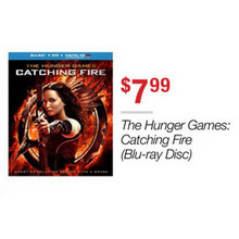 The Hunger Games: Catching Fire Blu-ray Disc
