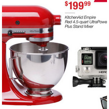 KitchenAid Empire Red 4.5-Quart UltraPower Plus Stand Mixer
