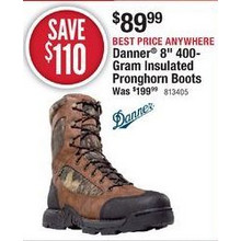 "Danner 8"" 400-Gram Insulated Pronghorn Boots"