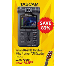 Tascam DRV1HD LINEAR PCM/HD VID REC
