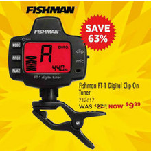Fishman ACCTUNFT1 FT1 CLIP ON TUNER