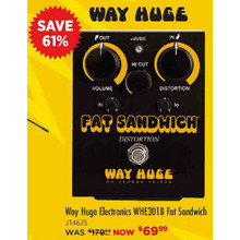Way Huge Electronics WHE301B Fat Sandwich Black