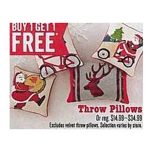 Throw Pillows B1G1 Free