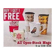 Open Stock Mugs B1G1 Free
