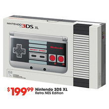 Nintendo 3DS XL - GameStop Exclusive NES Edition