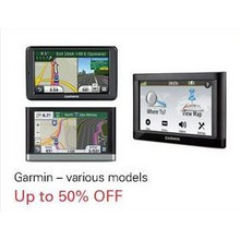 Garmin - Various Models up to 50% off