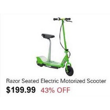 Razor Seated Electric Motorized Scooter