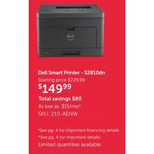 Dell Smart Printer (S2801dn)