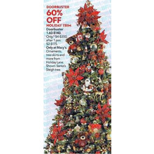 Holiday Lane Holiday Trim 60% OFF
